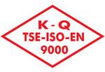 TSE-EN ISO9001 KALİTE YÖNETİMİ SİSTEMİ BAŞARILI UYGULAMALARI İÇİN BAŞARI ÖDÜLÜ