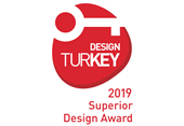 DESIGN TURKEY 2019 SUPERIOR DESIGN AWARD